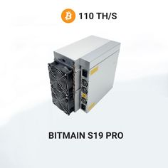 3199€ - Antminer S19 PRO miningBitcoinwith a maximum hashrate of 110Th/s. Asic Bitcoin Miner, Mining Pool, Blockchain, Cryptocurrency, Personal Finance