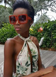 Angolan Model Maria Borges's Sophisticated Model-Off-Duty Style