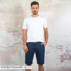 Para começar bem o ano: Look com bermuda Gdoky Jeans! #Aposte #Gdokymen #2017
