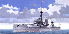 El buque que marcó una época: HMS Dreadnought. De 18.500 t, su velocidad de 21 nudos al ser el primer acorazado dotado de turbinas de vapor y su artillería monocalibre formada por diez piezas de 305 mm (de las que ocho podían disparar por una misma banda) dejaban anticuado cualquier otro buque botado hasta el momento. Más en www.elgrancapitan.org/foro