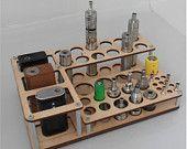 Vape stand mini Titan Wood