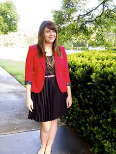 red blazer #outfit