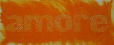 Amore, carborundum, 140x80 cm