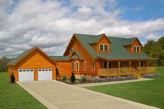 Log Home Floor Plan Banner Elk 1
