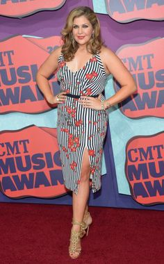 Hilary Scott wearing L'Wren Scott  at CMT Music Awards 2014 !! Get the red carpet looks!!