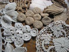 antique crochet