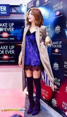 Sooyoung - Make Up For Ever event