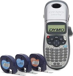 DYMO LetraTag Plus Étiqueteuse personnelle Label Maker + 3 extra tapes Best Label Maker, Dymo Label, Smart Home Control, Diy Garage Storage, Website Design Company, Home Office Organization, Storage Organization, Cassette, Amazon Associates