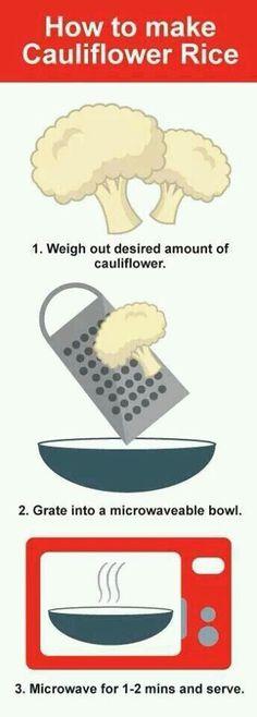 Great Cauliflower rice recipe #stayingfittogether