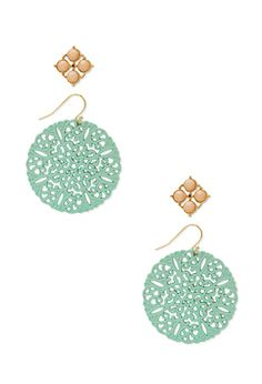 $5 Festive Filigree Earring Set | FOREVER21 - 1000062969