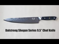 "Dalstrong Shogun Series 9.5"" Chefs Knife Review by Chefs-Resources.com and The Knife Nerd"