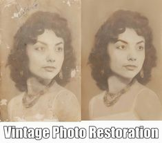 The Best Photo Restoration Services and Photo Repair of Old Pictures. Or your money back.  www.fixingphotos.com #photorepair #giftideas