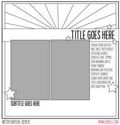 Love this take on a sunburst, just using it as a wide border at the top of a page