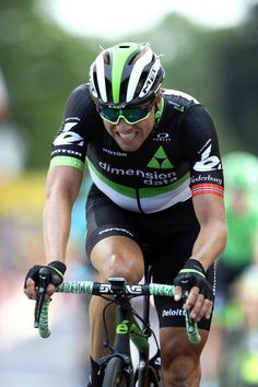 Edvald Boasson Hagen of Norway and Team Dimension Data crosses the finish line on stage 3 of the 2017 Tour de France a 2125km road stage from...