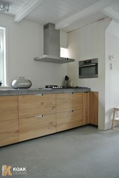 Tom I like the timber colour    Ikea kitchen hack wooden doors for ikea kitchen cabinets Metod, 100% your Design, Koak Design