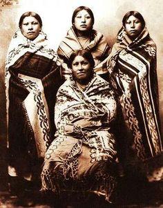 1890 young native american women