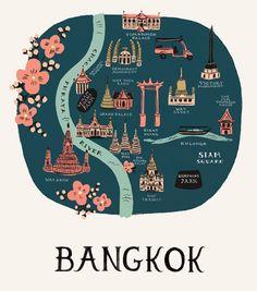 <3 this Bangkok Print from Rifle & Co.