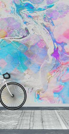 paint messy happywall painting