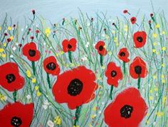 Check out student artwork posted to Artsonia from the Gr. Poppy Field Paintings Inspired by the Wizard of Oz (Hoens) project gallery at Brunswick Acres Elementary School. Art 2nd Grade, Grade 2, Poppy Field Painting, Remembrance Day Art, Fall Art Projects, Kid Projects, Spring Art, Autumn Art, Art Lesson Plans