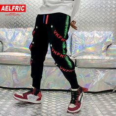 607358286 Page not found. Aelfric Eden Side Stripe Button Ribbons Harem Sweatpants  Men Cotton Black Harajuku Joggers Casual Streetwear Track Pants ...