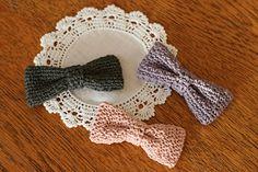 おとなリボン・3タイプ_かぎ針編み