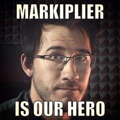 MARKIPLIER IS OUR HERO by MalGirl101 on DeviantArt