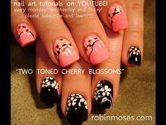 cherry blossom nails - Buscar con Google