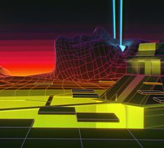 Let's have a walk | Motion Graphics Animation by Mickaël MEO Forrett, via Behance