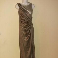"Sale New Adrianna Papell Collection Formal Gray 2 New. Stunning design, pictures doesn't do this dress justice!! Bust 32"" and top to bottom 57"". Wedding ,  Cocktail , Prom. Adrianna Papell Dresses Maxi"