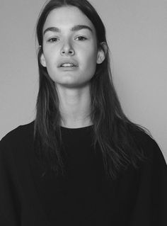 Ophelie Guillermand by Christoph Wohlfahrt for i-D online - no make-up is the best make-up