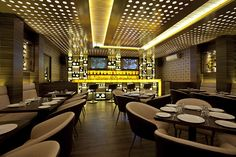 Blend & Brew Lounge Bar by C&S Architects, Mumbai