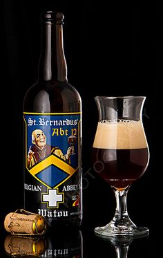 St. Bernardus - Abt. 12. One of a select few Belgian Quadrupels to make the Hall of Fame