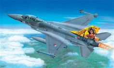 1:72 F-16 A/B FIGHTING FALCON - Airplanes - Military scale model kits - Modelling   Hobbyland F-16 is the word's most widely used combat aircraft of to day. About 2000 units are in service with the Air Forces of 18 nations. Thanks to its versatility the aircraft covers the roles of a fighter and attack aircraft as well as reconnaissance plane. The standardization enables the Air Force to use one single prototype and thus save costs in training and maintenance.