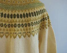 Label: Sundt, Handstrikket, Norge Vintage Nordic Wool Fair Isle Cardigan / Hand Knit by zestvintage