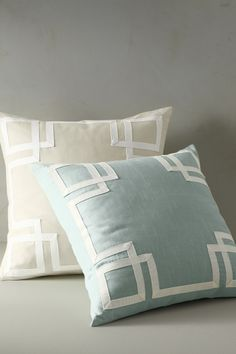 Mandarin Decorative Pillow...another simple, but elegant look.
