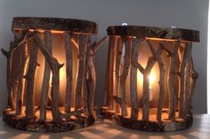 Driftwood lamp (Ricksdrijfhoutcompany.nl)