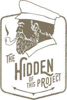 Hidden project tees design