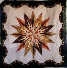 Vintage Compass, Quiltworx.com, Made by Joyce Thompson Greer