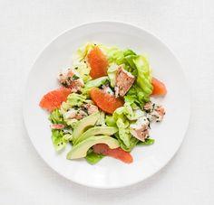 Crab Salad with Grapefruit and Avocado