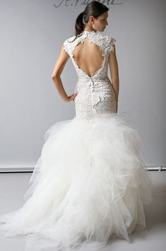 St. Pucchi, Spring 2013 Go here for your dream wedding dress and fashion gown!https://www.etsy.com/shop/Whitesrose?ref=si_shop