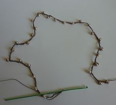 chain stitch cording and pearls. Simple.  Crochet Dynamite: Endless Summer