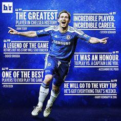 Frank Lampard - Chelsea FC Legend