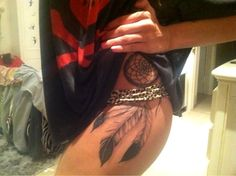 dreamcatcher tattoos | Tattoos On Side Of Ribs For Girls Flower