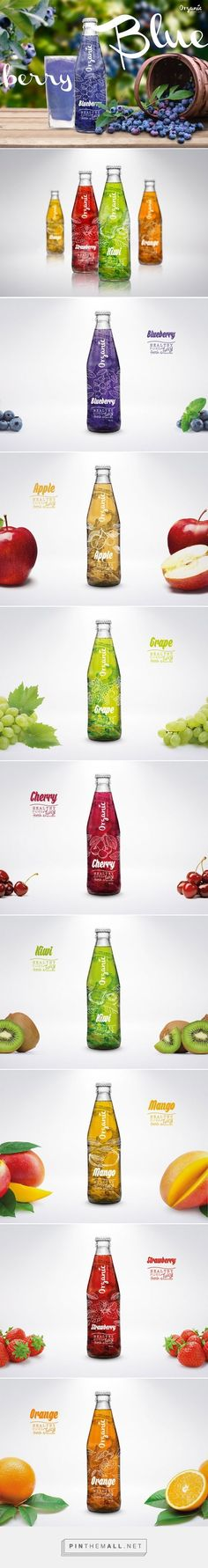 Organic Natural Juice concept by Mario Castillo. Pin curated by #SFields99 #packaging #design #naturaljuice