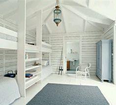 Scandinavian beach house style
