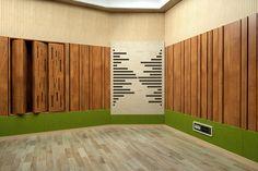 Music studio. Проектирование студии звукозаписи