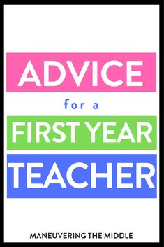 Sincere advice for first year teachers: have routines, build relationships, the rest will come with time. 5 practical lessons for a new teacher. Classroom Activities, Classroom Organization, Classroom Management, First Year Teaching, Teaching Jobs, New Teachers, Teacher Appreciation, Lesson Plans, Teacher Gifts