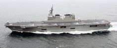 The Hyuga Class destroyers will now be the largest combat ships operated by Japan. - Image - Naval Technology