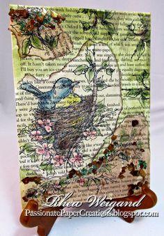 Passionate Paper Creations: Stampendous Tutorials