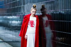 Marie from NEMESIS, BABE  www.nemesisbabe.dk  Lobster outfit